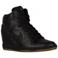 Nike Dunk Sky Hi Essential Schwarz/Gum Med Braun/Dunkel Grau Damen Sneakers