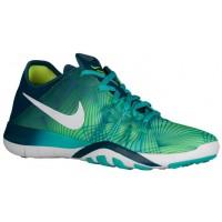 Nike Free Tr 6 Deutlich Jade/Weiß/Midnacht Türk Damen Sports