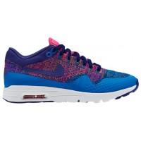 Nike Air Max 1 Ultra Flyknit Foto Blau/Dunkel Royal Blau Damen Laufschuh