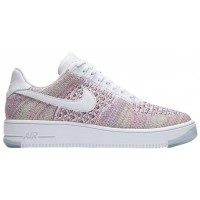 Nike Air Force 1 Low Flyknit Weiß/Smaragdgrün Damen Sneakers