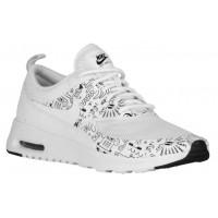 Damen Nike Air Max Thea Harrington Print Weiß/Schwarz Running Schuhe