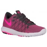 Nike Flex Fury 2 Dunkel Grau/Weiß/Rosa Blast Damen Sportschuhe