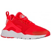 Nike Air Huarache Run Ultra Damen Basketballschuhe Hell Crimson/Weiß