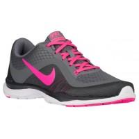 Nike Flex Trainer 6 Cool Grau/Rosa Blast/Dunkel Grau/Weiß Damen Turnschuhe