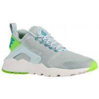 Nike Air Huarache Run Ultra Damen Sportschuhe Fiberglas/Elektrisch Grün/Gamma Blau