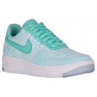 Nike Air Force 1 Low Flyknit Hyper Türkis Damen Sneakers