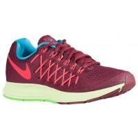 Nike Air Zoom Pegasus 32 N7 Dunkel Granat/University Rot/Rosa Folie/Licht Hellgrün Damenschuhe