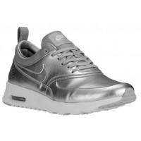 Damen Nike Air Max Thea Metallic Silber/Rein Platin/Weiß Sneakers