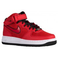 Nike Air Force 1 '07 Mid Suede University Rot Damen Sportschuhe