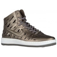 Nike Air Force 1 Ultra Force Mid Damen Sportschuheschuhe Metallic Zinn