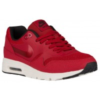 Nike Air Max 1 Ultra Essentials Gym Rot/Schwarz/Sail Damen Sneakers