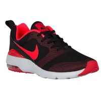 Damen Nike Air Max Siren Schwarz/Hell Crimson/University Rot Running Schuhe