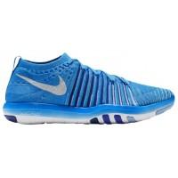 Nike Free Transform Flyknit Blau Glühen/Weiß/Dunkel Royal/Rennfahrer Blau Damen Damen-Trainingsschuh