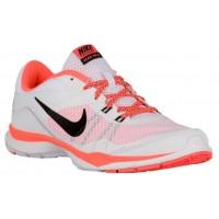 Nike Flex Trainer 5 Damen Running Schuhe Weiß/Hell Mango/Schwarz