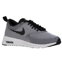 Nike Air Max Thea Jacquard Schwarz/Weiß/Metallic Silber Damen Sneakers