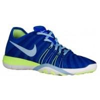 Nike Free Tr 6 Rennfahrer Blau/Ghost Grün/Weiß Damen Damen-Trainingsschuh