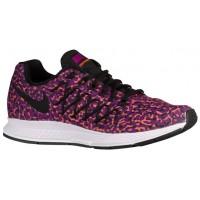 Nike Air Zoom Pegasus 32 Print Farbig Perle/Hyper Orange/Schwarz Damen Running Schuhe
