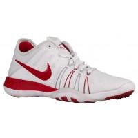 Nike Free Tr 6 Weiß/Gym Rot/Rein Platin Damen Laufschuh