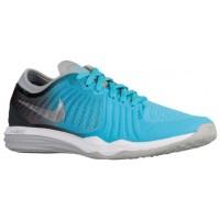 Nike Dual Fusion Tr 4 Print Gamma Blau/Metallic Silber/Anthrazit/Blau Lagoon Damen Sportschuhe