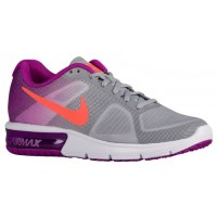 Nike Air Max Sequent Wolf Grau/Farbig Perle/Weiß/Hyper Orange Damen Sneakers