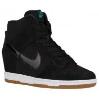 Nike Dunk Sky Hi Essential Schwarz/Sail/Gum Med Braun Damen Sneakers