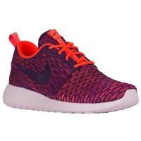 Nike Roshe One Flyknit Damen Sportschuhe Gesamt Crimson/Perle/Farbig Perle