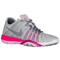 Nike Free Tr 6 Rein Platin/Rosa Blast/Feuer Rosa Damenschuhe