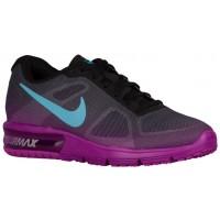 Nike Air Max Sequent Schwarz/Hyper Violett/Dunkel Grau/Gamma Blau Damen Damenschuhe