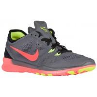 Nike Free 5.0 Tr Fit 5 Dunkel Grau/Hyper Orange/Schwarz/Volt Damen Laufschuhe
