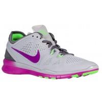 Nike Free 5.0 Tr Fit 5 Wolf Grau/Farbig Perle/Voltage Grün/Dunkel Grau Damen Damenschuhe