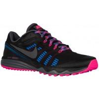 Nike Dual Fusion Trail 2 Schwarz/Rosa Blast/Foto Blau/Dunkel Grau Damen Laufschuhe