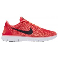 Nike Free Rn Distance Damen Running Schuhe Hell Crimson