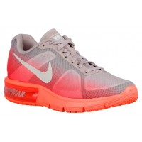 Nike Air Max Sequent Hell Mango/Weiß/Hell Crimson Damen Laufschuh