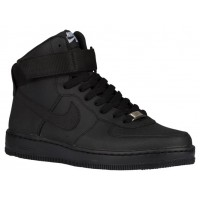 Damen Nike Air Force 1 Ultra Force Mid Essentials Schwarz/Weiß Trainers