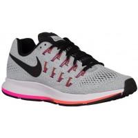 Damen Nike Air Zoom Pegasus 33 Rein Platin/Cool Grau/Rosa Blast/Schwarz Running Schuhe