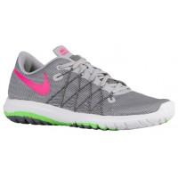 Nike Flex Fury 2 Wolf Grau/Voltage Grün/Dunkel Grau/Hyper Rosa Damenschuhe