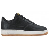 Nike Air Force 1 '07 Low Premium Damen Trainers Schwarz/Weiß