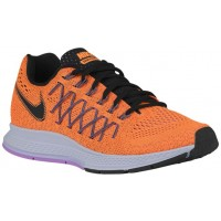 Nike Air Zoom Pegasus 32 Damen Laufschuhe Hell Zitrusfrucht/Schwarz/Violett Frost