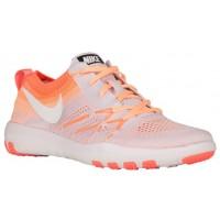 Nike Free Tr Focus Flyknit Damen Sneakers Licht Violett/Hell Mango/Pfirsich-Creme/Summit Weiß