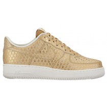 Nike Air Force 1 Lv8 Herren Sneaker Metallic Gold/Weiß