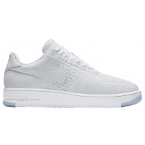 Nike Air Force 1 Ultra Flyknit Low Weiß/Eis Herren Sneakers