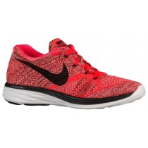 Herren Nike Flyknit Lunar 3 Hell Crimson/Hyper Orange/Summit Weiß/Schwarz Trainingsschuhe