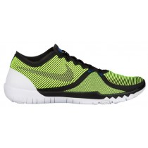 Nike Free Trainer 3.0 V4 Schwarz/Volt/Kaktus/Weiß Herren Basketball