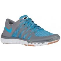 Herren Nike Free Trainer 5.0 V6 Cool Grau/Stratus Blau/Rein Platin/Blau Lagoon Sneakers