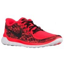 Nike Free 5.0 2015 Hell Crimson/Weiß/Schwarz Herren Schuhschaft