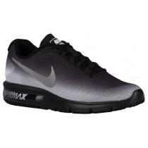 Herren Nike Air Max Sequent Weiß/Schwarz/Metallic Silber/Drucken Herrenschuhe