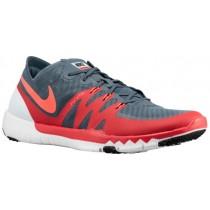 Nike Free Trainer 3.0 V3 Blau Graphit/Daring Rot/Schwarz/Hot Lava Herren Basketballschuh