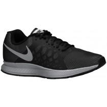 Nike Air Pegasus 31 Flash Herren Laufschuhe Schwarz/Reflektierend Silber