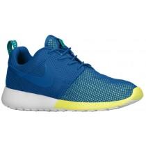 Nike Roshe One Herren Runningschuh Militär Blau/Turbo Grün/Weiß/Militär Blau