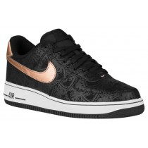 Nike Air Force 1 Lv8 Schwarz/Metallic Rot Herren Basketball
